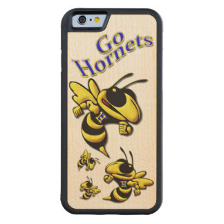 Highland High School Hornet Carved Maple iPhone 6 Bumper Case