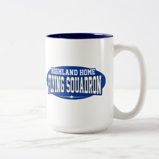 Highland Home High School; Flying Squadron Coffee Mug