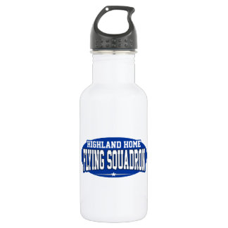 Highland Home High School; Flying Squadron Water Bottle