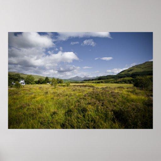 Highland Landscape Posters