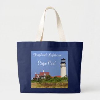 Highland Lighthouse Cape Cod Jumbo Tote Bag