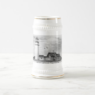 Highland Lighthouse, Cape Cod, Ma. Beer Stein
