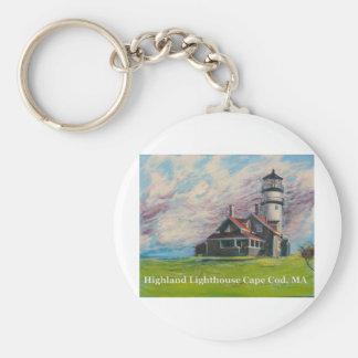 Highland Lighthouse Cape Cod, MA Keychains