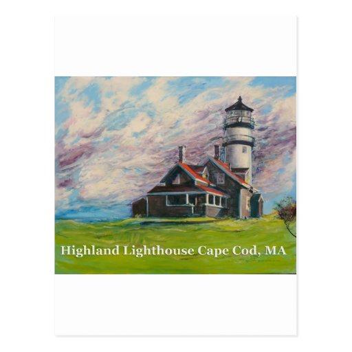 Highland Lighthouse Cape Cod, MA Postcard