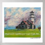 Highland Lighthouse Cape Cod, MA Print