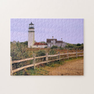 Highland Lighthouse, Cape Cod, Massachusetts Jigsaw Puzzle