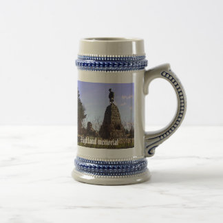 Highland memorial beer stein