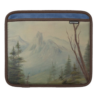 Highland  Mountain Landscape iPad Sleeve