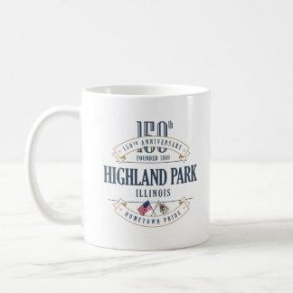 Highland Park, Illinois 150th Anniversary Mug