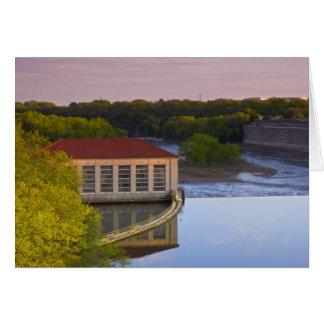 Highland Park Powerhouse and Dam Greeting Card