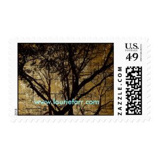 Highland Park Tree Postage Stamps
