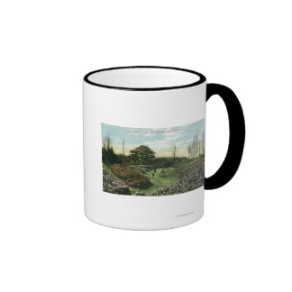 Highland Park's Rhododendron Path and Pavilion Coffee Mug