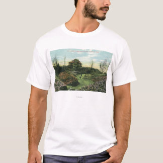 Highland Park's Rhododendron Path and Pavilion T-Shirt
