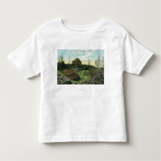 Highland Park's Rhododendron Path and Pavilion Toddler T-shirt