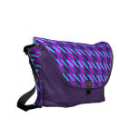 Highland Pink Houndstooth Courier Bags