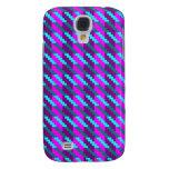 Highland Pink Houndstooth Galaxy S4 Case