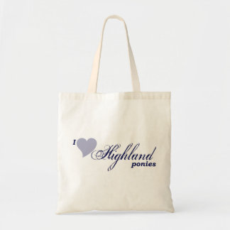 Highland ponies bag