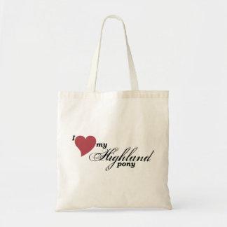 Highland pony bag