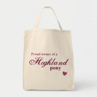 Highland pony bags