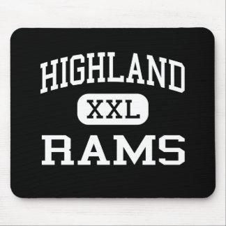 Highland - Rams - High - Salt Lake City Utah Mouse Pad