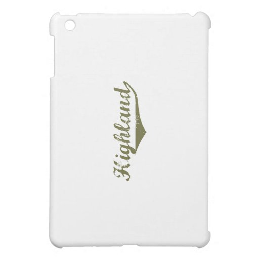 Highland Revolution t shirts iPad Mini Cases