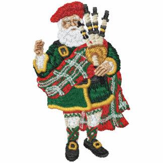 Highland Santa Claus Embroidered Track Jacket
