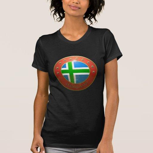 Highland shield tshirts