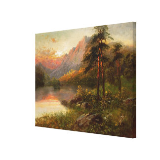 Highland Solitude Canvas Print