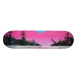 Highland spray can art print skateboard