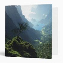 fjord, digital, highland, spring, Fichário com design gráfico personalizado