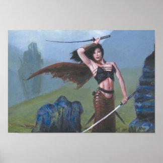 Highland Swordsmith Poster