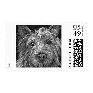 Highland Terrier Postage