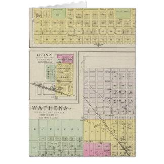 Highland, Wathena, Eagle Springs, Kansas Card