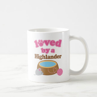 Highlander Cat Breed Loved By A Gift Coffee Mug
