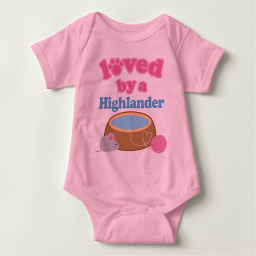 Highlander Cat Breed Loved By A Gift Shirt