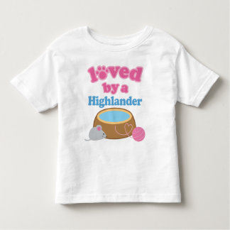 Highlander Cat Breed Loved By A Gift Toddler T-shirt