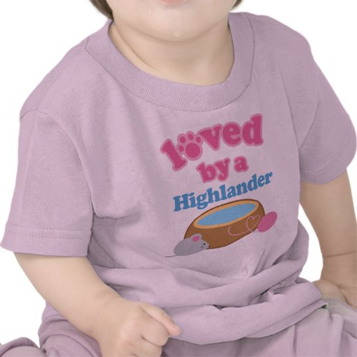 Highlander Cat Breed Loved By A Gift Tshirt
