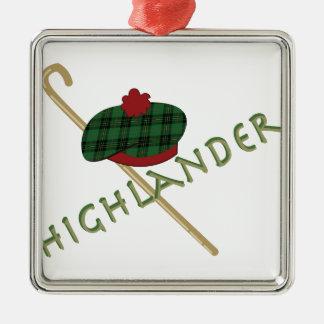 Highlander Metal Ornament