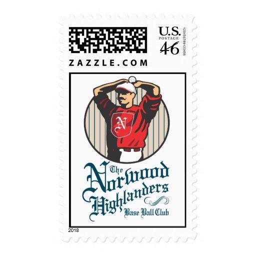 Highlanders Logo Stamp