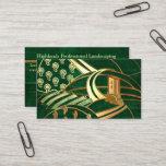 Highlands 1 Celtic LANDSCAPING TREE SERVICE Business Card