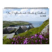 Highlands and Islands of Scotland Landscape Photos Calendar