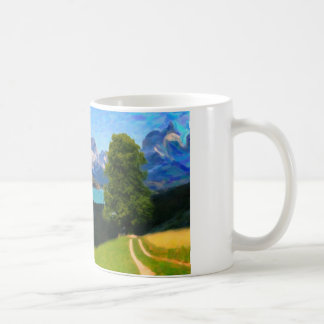 Highlands of Chile - Lago Pehoe in Torres del Pain Coffee Mug