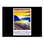 Highlands Of The Hudson New York Central System Postcard