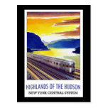 Highlands Of The Hudson New York Central System Post Cards