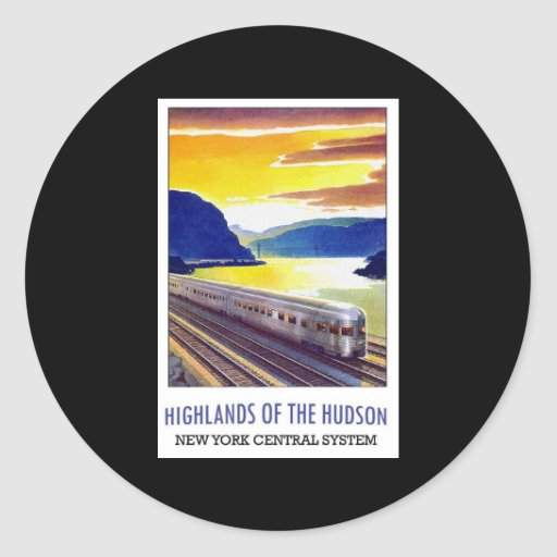 Highlands Of The Hudson New York Central System Stickers
