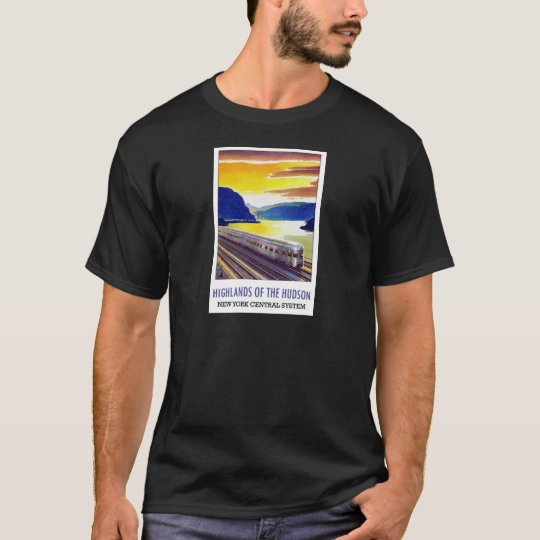 Highlands Of The Hudson New York Central System T-Shirt