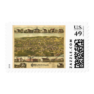 Highlandville Massachusetts (1887) Postage