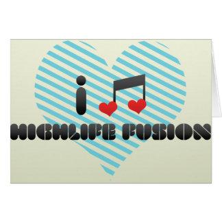 Highlife Fusion Greeting Card