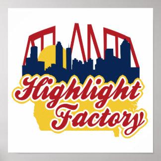 Highlight Factory Poster