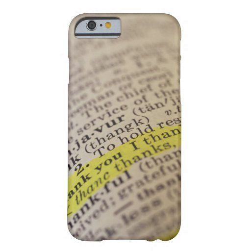 Highlighted dictionary entry iPhone 6 case